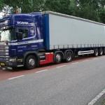 Et ældre billede  Per på vej til Holland for Bertzen