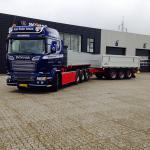Så blev de nye Scania 580 leveret af Scania Esbjerg  Sælger Ole Kristiansen