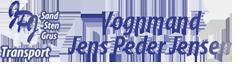 Vognmand Jens Peder Jensen logo
